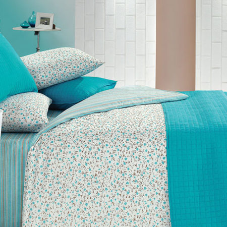 Kupon Buddy Yatak Örtülü Duvet Cover Single-turquoise