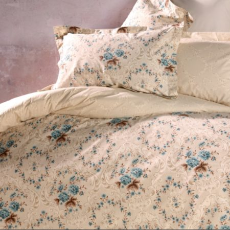 Soley Single Ranforce طقم غطاء لحاف - Cordoba Cream