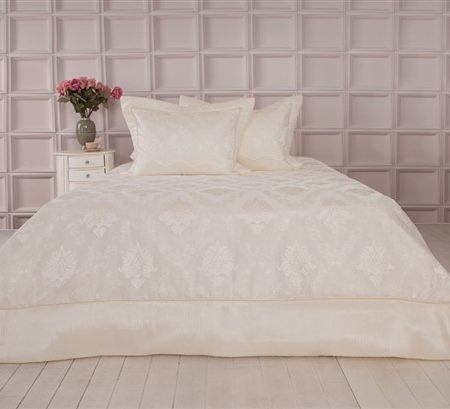 Soley Selectionغطاء سرير Serena Cream