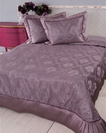 Soley Selectionغطاء سرير Serena Plum